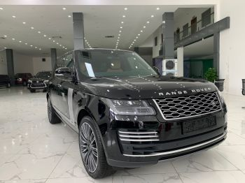 Range Rover Autobipgraphy L đen da bò