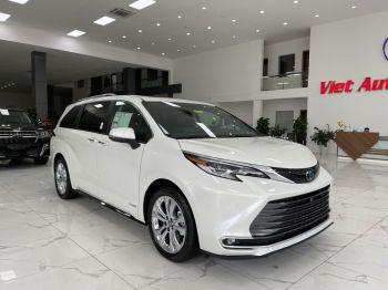 Toyota Sienna Platinum 2021 trắng