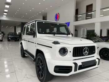 Mecredes G63 AMG 2021 trắng