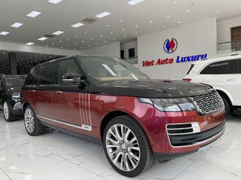 Range Rover SV Autobiography 2021 Đen đỏ